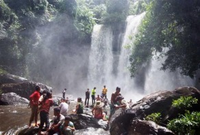 Peace of Angkor photo adventure tours siem reap cambodia phnom kulen mountain waterfall